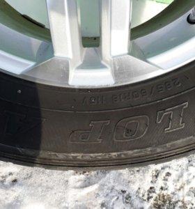 Комплек колес на лендкрузер