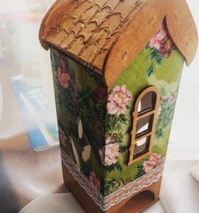 Чайные домики подарки ручной работы