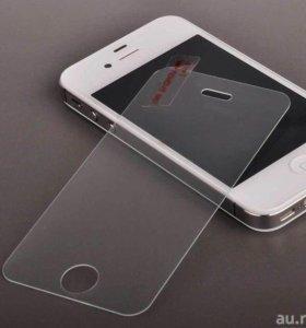 Защитное стекло на Айфон 5s, se, 6s и 7.