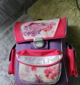 Рюкзак подростковый, школьный(девочкам)