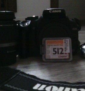 Зеркальный фотоаппарат Canon 350D