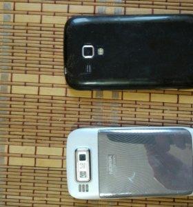 Продам два телефона в рабочем состоянии