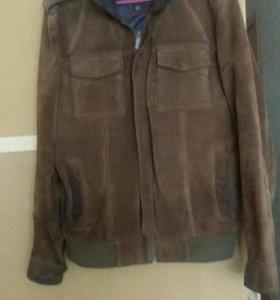 Натуральная замша.куртка мужская Zara man