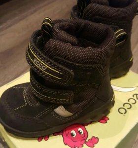Ecco ботинки детские
