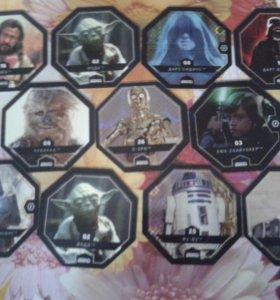 Карты из звёздных войн.