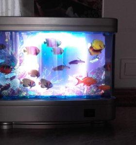 Светильник- аквариум