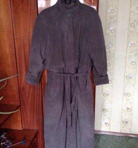 Пальто 50-52 с мехом