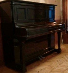 Антикварное концертное фортепиано BLUTHNER
