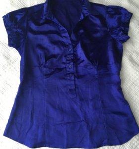 Атласная блуза incity