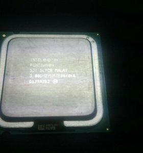 Intel pentium 4 + ОЗУ