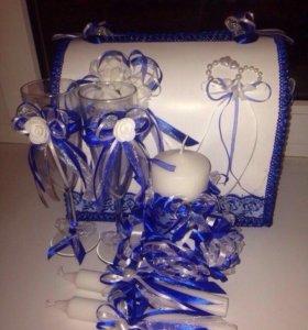 Набор аксессуаров для свадьбы
