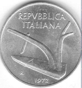 10 лир, Италия