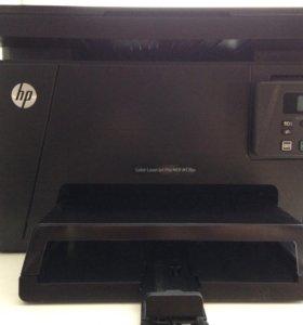 Принтер  МФУ (цветной) HP LaserJet Pro M176n
