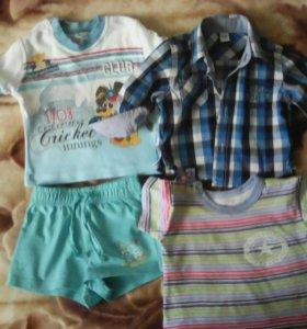 Одежда для малыша от 0 до 6 мес