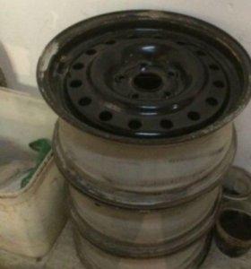 Колеса диски Волга форд 15R