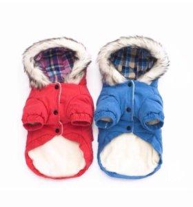 Куртка тёплая для маленьких собак