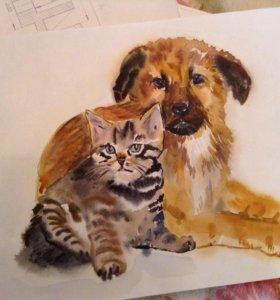 Уроки  живописи для ваших деток