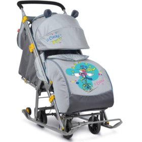 Детские коляска-санки