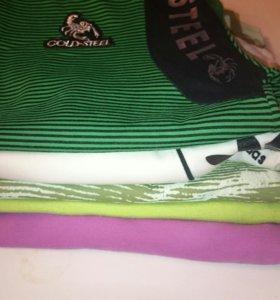 Куча мужских футболок 46-48 размер