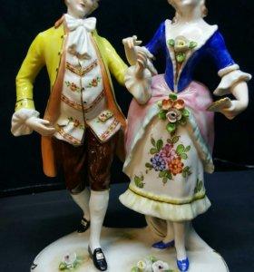 """Фарфоровая статуэтка """"Танец"""". Германия"""