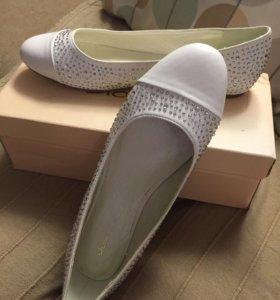 Обувь/балетки для невесты