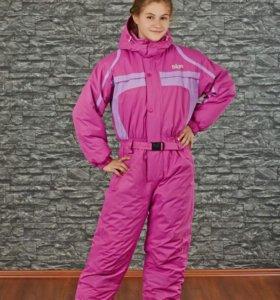 Комбез лыжный на девочку р158-164