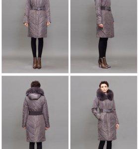 Новое женское пальто-пуховик