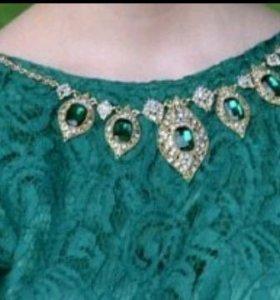 Вечернее платье. Отличный вариант на выпускной!!