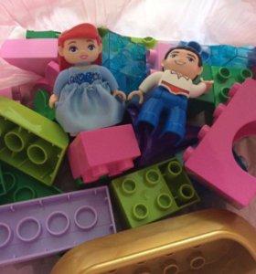 """Лего Дупло """"Волшебная лодочка Ариэль"""""""