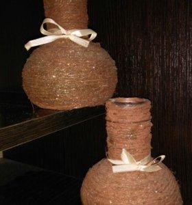 Мини-вазочки