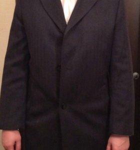 Шерстяное пальто Италия, фабричное