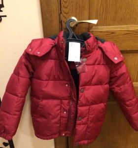 Новая куртка 110-116 рост