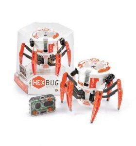 Микро-робот Hexbug Боевой Спайдер оранжевый