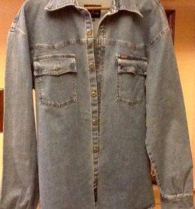 Рубашка мужская джинсовая 50-52