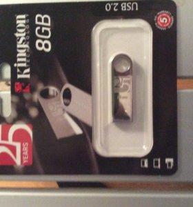 Флешка Kingston 8Gb USB 2.0