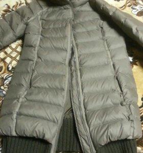 Брендовый пуховик пальто