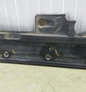 Нижняя защита на Mercedes glk