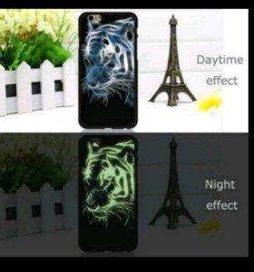 Светящийся чехол для iPhone 5 5S SE