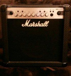 Комбоусилитель гитарный Marshall MG15CFX