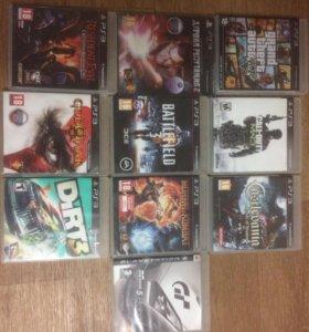 Игровые диски ps3