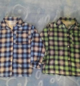Рубашечки на ребенка 4-5 лет