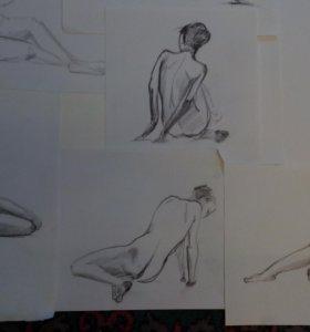 Картины наброски рисунки