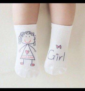 Носочки для мальчиков и девочек