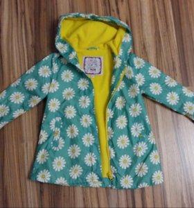 Куртка ( плащ) на флисе