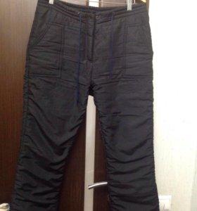 Тёплые, болоневые штаны р.48-50