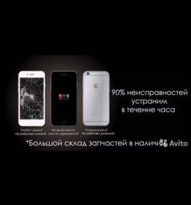 iPhone 4/4S/5/5S/6/6+ /6s iPad(все модели)