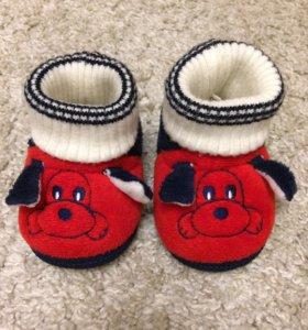 Детские мягкие ботинки