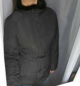 Куртка с мехом норки savage