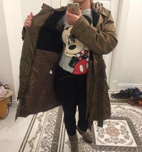 Пальто, куртка, M-L
