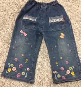 Колготки, джинсы